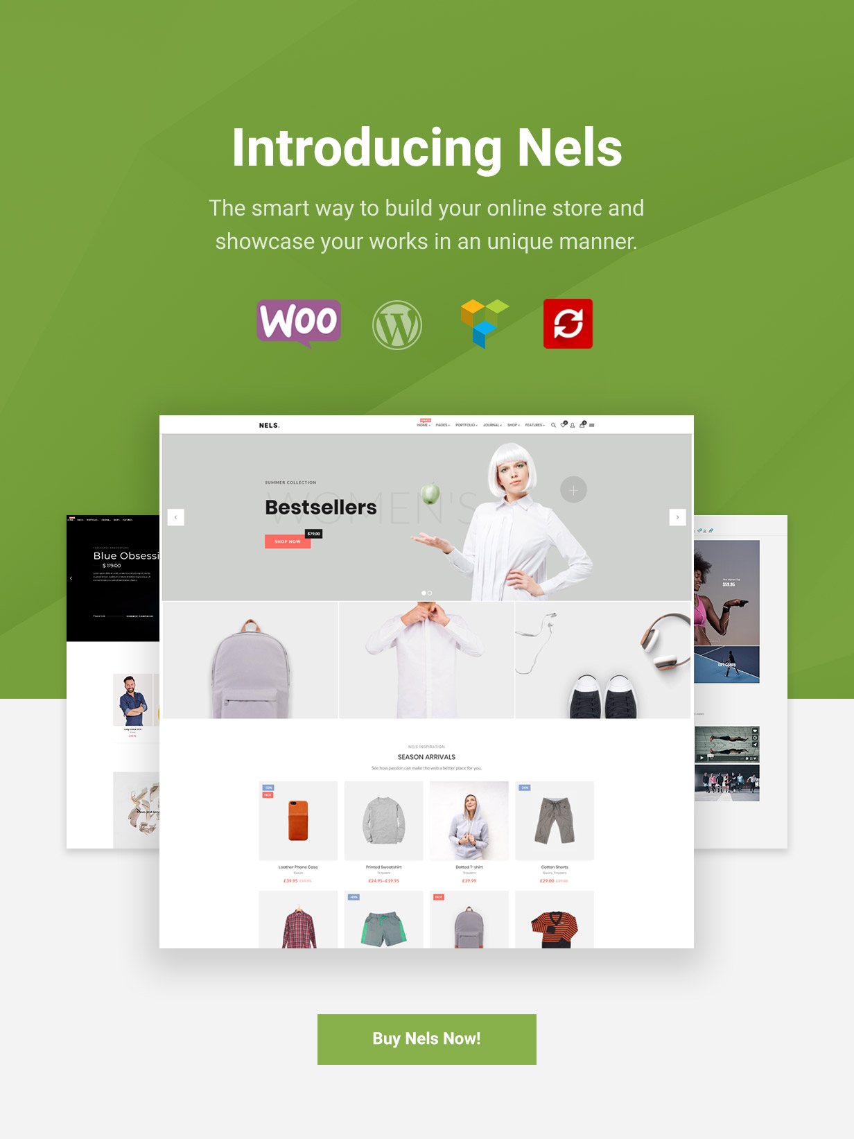 Nels - An Exquisite eCommerce WordPress Theme - 1