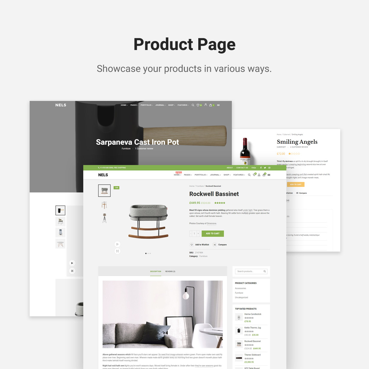 Nels - An Exquisite eCommerce WordPress Theme - 8